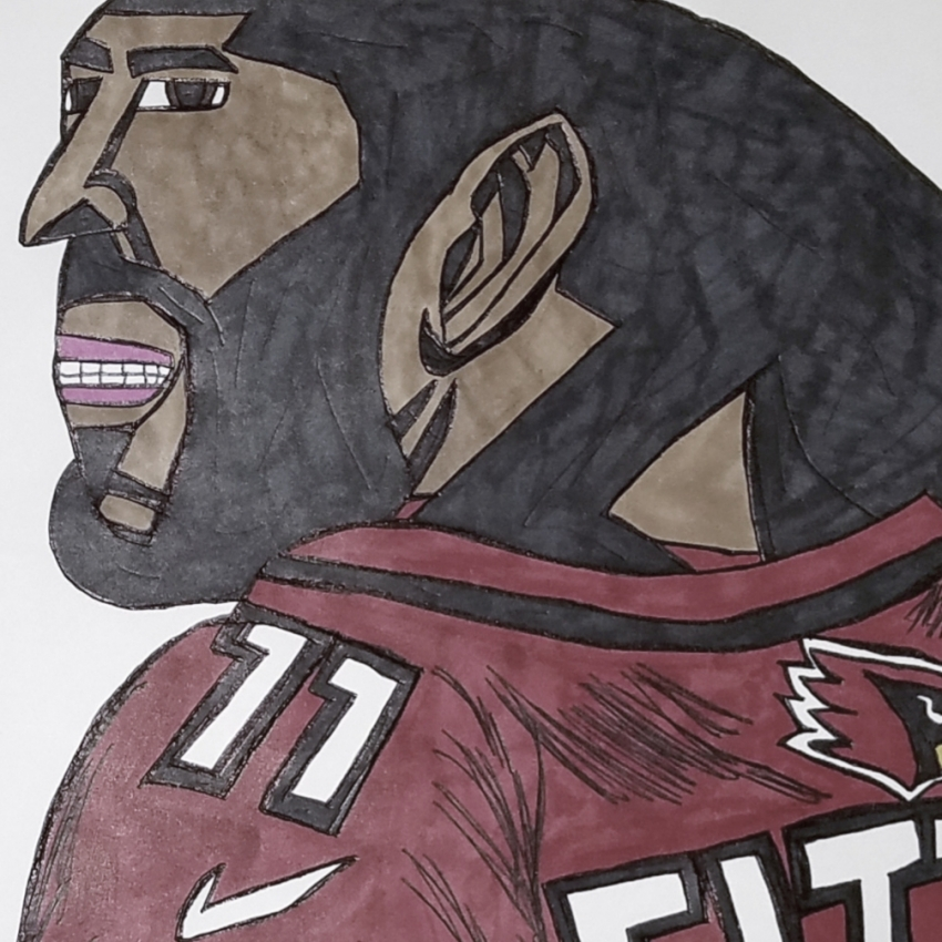 Larry Fitzgerald by armattock